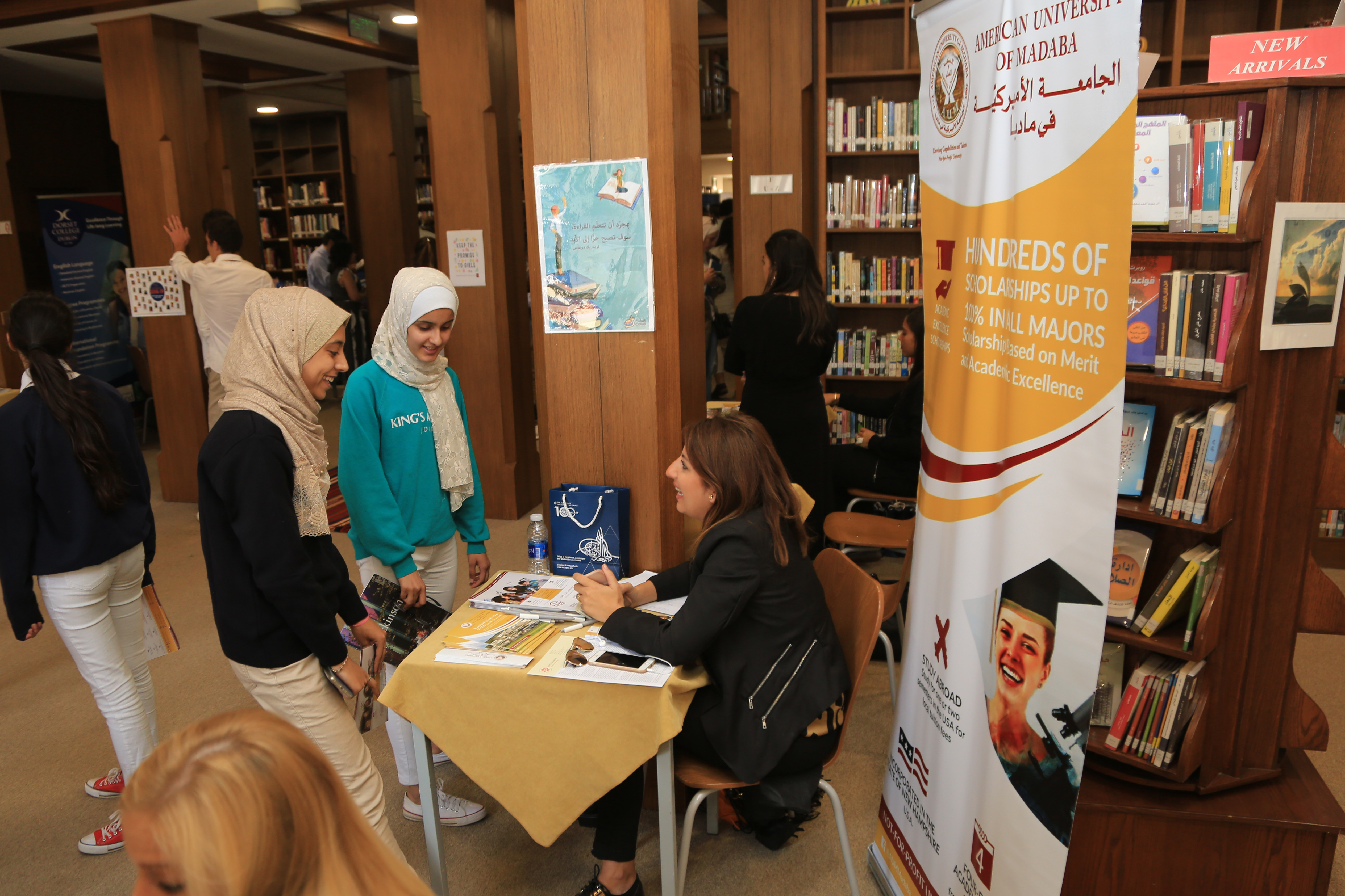 More than 100 students attend university fair